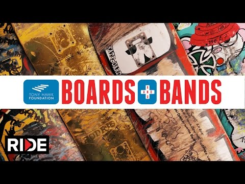 Tony Hawk Foundation's Boards and Bands Auction - Press Release