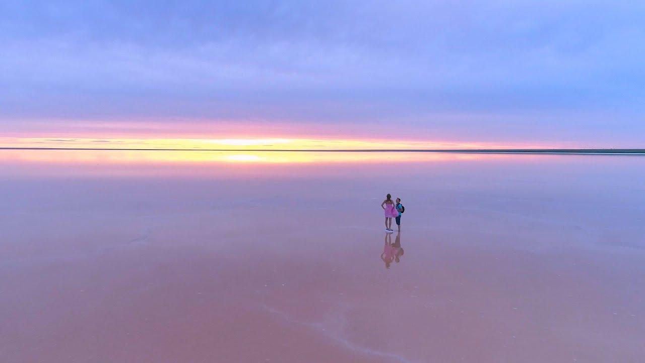 Отдых на озере Эльтон - YouTube