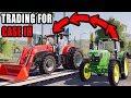 TRADING JOHN DEERE FOR CASE IH MAXXUM | LETS FARM #16 | FS19
