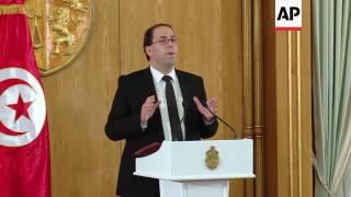 PM announces new Tunisian government