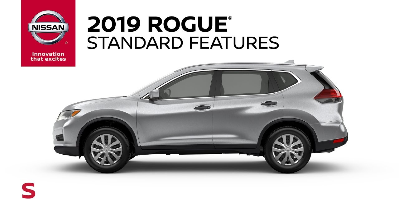2019 Nissan Rogue S Model Review
