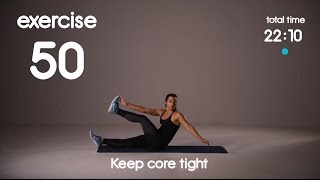 Fat Burning Cardio & Abs Workout - Level 3 - No Equipment - 40s/30s 60s/30s HIIT Workout