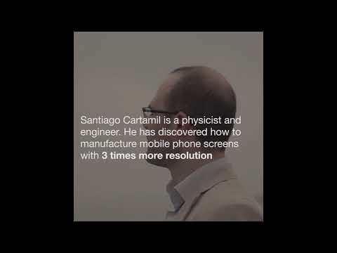 """Graphene completely changed my life."" La Caixa fellow Santiago Cartamil's story."
