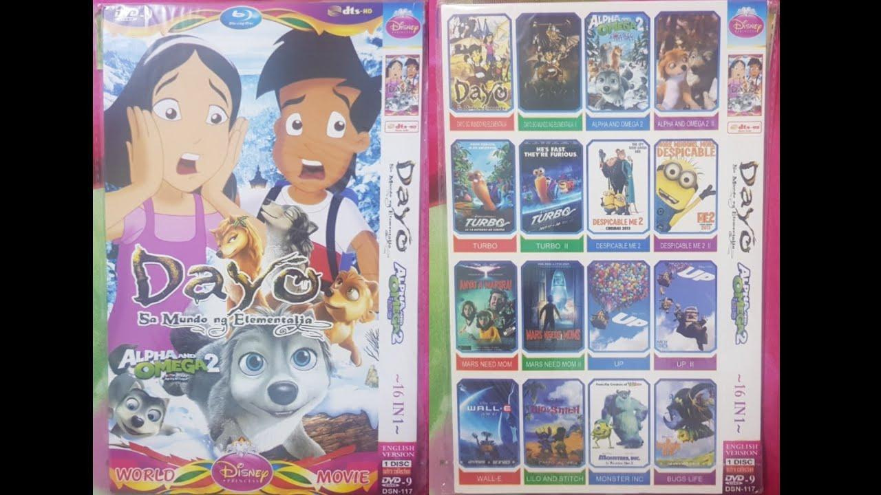 Dayo Sa Mundo Ng Elementalia World Disney Princess Movie Dvd Menu 2020 Youtube