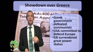 GCSE History: The Truman Doctrine and The Marshall Plan