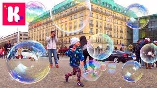 Германия/ #6/ едем в Берлин на поезде/ мыльные пузыри/ рум тур