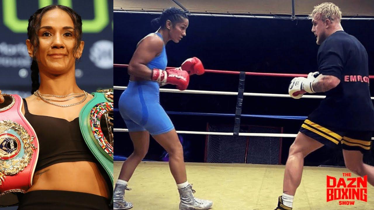What's It Like Training With Jake Paul? World Champion Amanda Serrano Weighs In