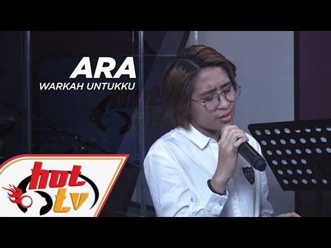 ARA - Warkah Untukku (LIVE) - Jamming Hot #HotTV