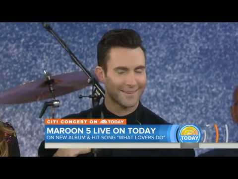 Maroon 5 performs What Lovers Do live at the Today Show | 11-02-2017 | HD