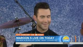 Maroon 5 performs What Lovers Do live at the Today Show 11 02 2017 HD
