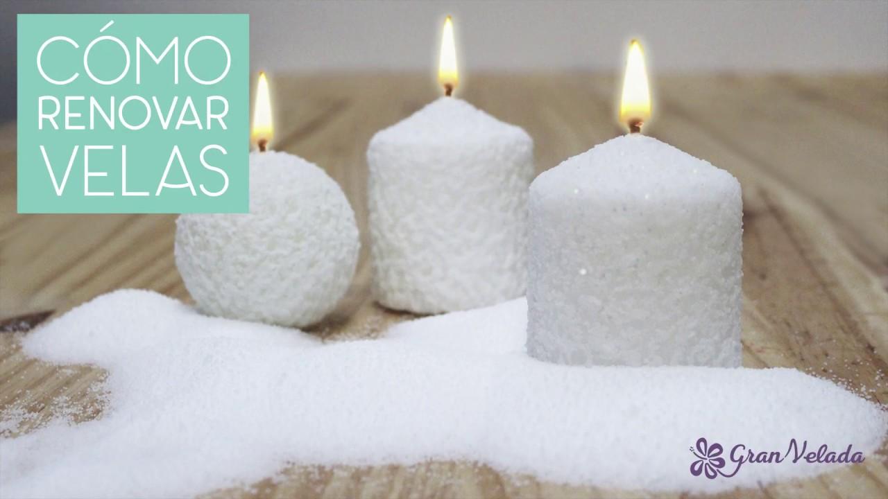 Como decorar velas para navidad youtube - Velas para decorar habitacion ...