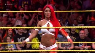 Eva Marie Sexy Entrance NXT