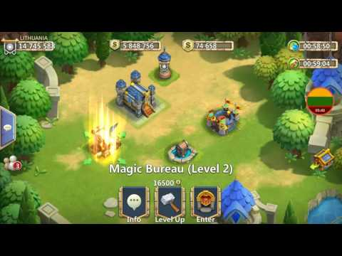 GUILD TURF UPDATE REVIEW Hub Treasury Magic Bureau Moxie Upgrade Explained Castle Clash