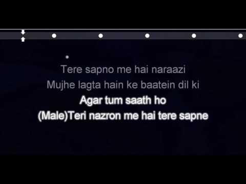 Agar Tum Saath Ho Karaoke Song HQ | Tamasha | Ranbir Kapoor, Deepika Padukone