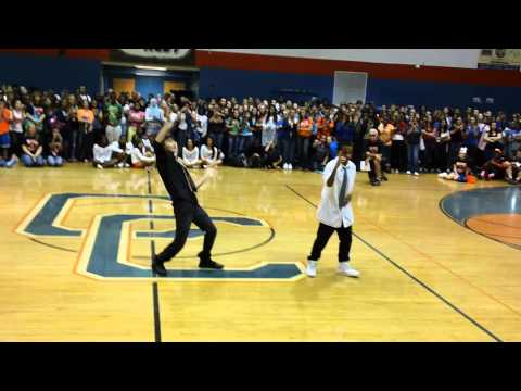 Cape Coral High School Pep rally 2012