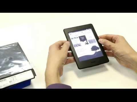 Amazone Kindle Paperwhite 2015 - распаковка и первые впечатления