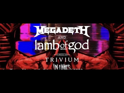 Megadeth, Lamb Of God, Trivium + In Flames to hold special streaming event metaltouroftheyear
