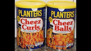 Planters: Cheez Curls and Cheez Balls Review