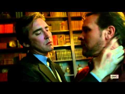 halt and catch fire s01e03 Lee Pace kiss