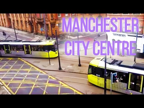 The UK Today - Walking Around Manchester City Centre  M1 England