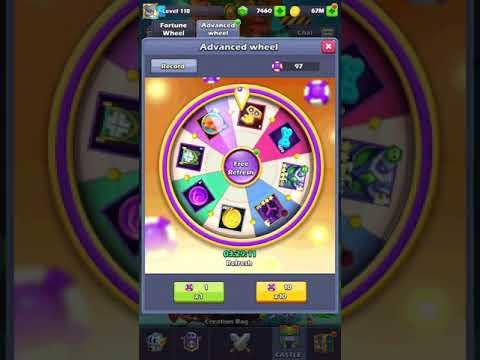 Taptap Heroes: 100 Advance Wheel For Shudde Mel Again ^_^