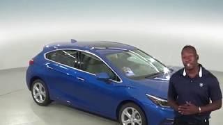 183050 - New, 2018, Chevrolet Cruze, LT, Hatchback, Blue, Test Drive, Review, For Sale -