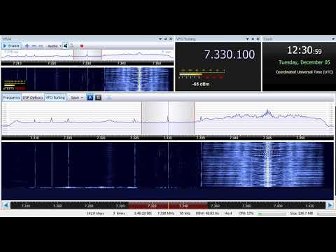 05 12 2017 Vatican Radio in Russian to FERussia 1230 on 7330, 9695 Tinang
