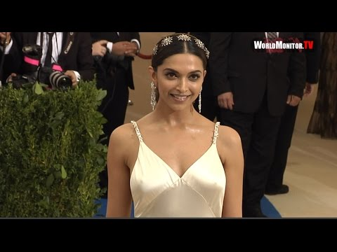 Deepika Padukone arrives at 2017 Met Gala