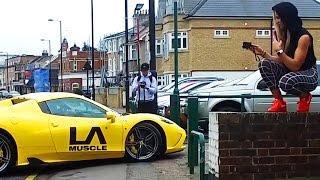 I Drive A Ferrari 458 Speciale Aperta!