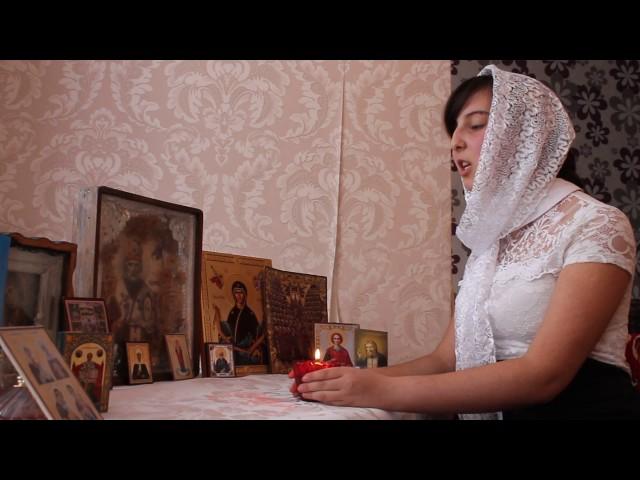 Изображение предпросмотра прочтения – АлинаКайшева читает произведение «Молитва (Не обвиняй меня, Всесильный…)» М.Ю.Лермонтова
