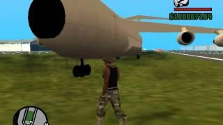 GTA San Andreas как получить самолёт Андромеда