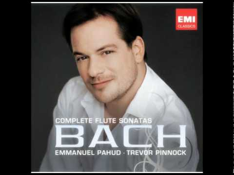 Emmanuel Pahud Bach Sonata in b minor (1/2) bwv 1030