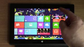 Microsoft Windows Surface RT Tablet - Unboxing and Review