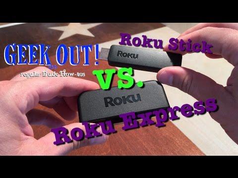 Roku Comparison: Roku Stick vs. Roku Express - YouTube