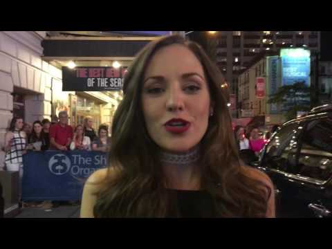 Broadway Stage Door Interviews Ft. Laura Osnes, Christy Altomare, Tony Nominee Andy Karl & More