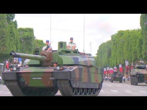 France MOD - Bastille Day Parade 2017 : Full Army Segment [720p]