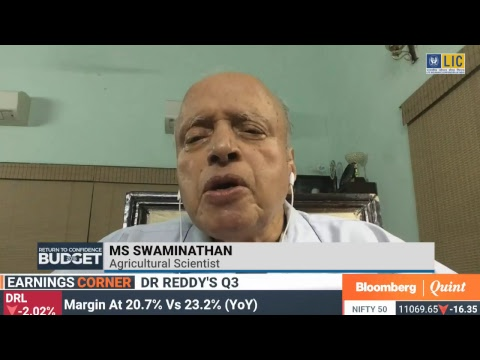 Budget 2018: In Conversation With MS Swaminathan