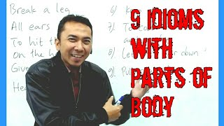vuclip 9 Idioms With Parts of Body