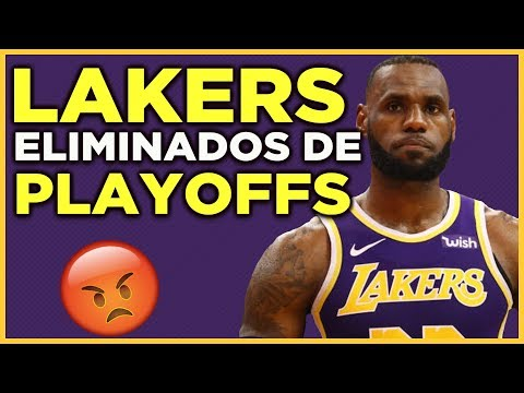 Lakers y Lebron James estan afuera de los playoffs | Lakers vs Nets | NBA Lakers En Español