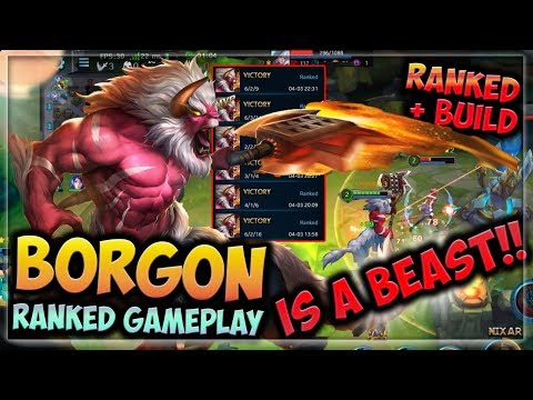 👹 THIS TANK IS A BEAST!! | HEROES EVOLVED - BORGON BUILD | RANKED GAMEPLAY | NEW HERO