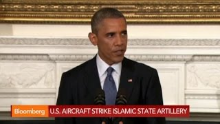 Iraq Militants Targeted in U.S. Airstrikes