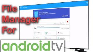 Android TV File Manager / File Explorer - File Commander screenshot 2