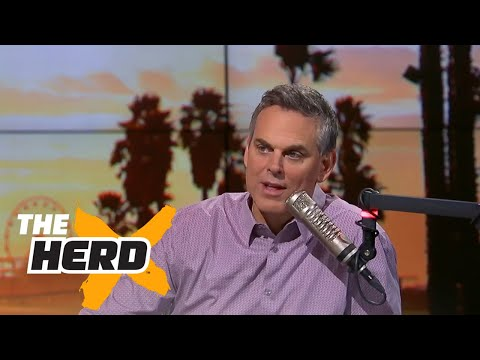 Colin Cowherd reacts to LeBron's second half against the Pacers in Game 3   THE HERD