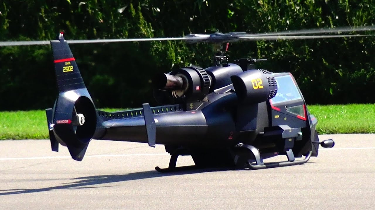 J.A.F.O BLUE THUNDER ACTION FILM SCALE RC HELICOPTER