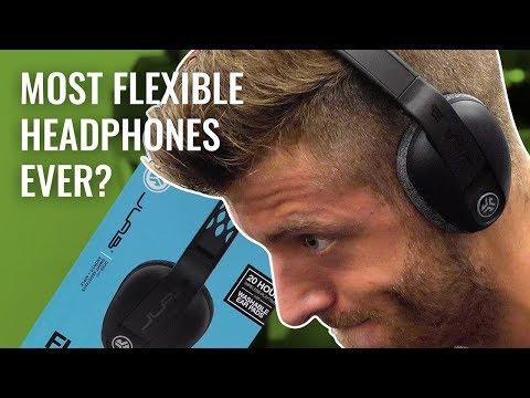 JLab Flex Sport Wireless Bluetooth Headphones Review | Too Flexible?
