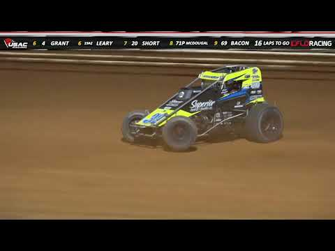 USAC National Sprint Car Port Royal Feature Highlights