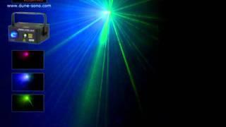 Laser Moon star2  Dune Lighting