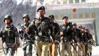 【HD】Pakistan-China friendship Military Maneuver 中巴军事友谊