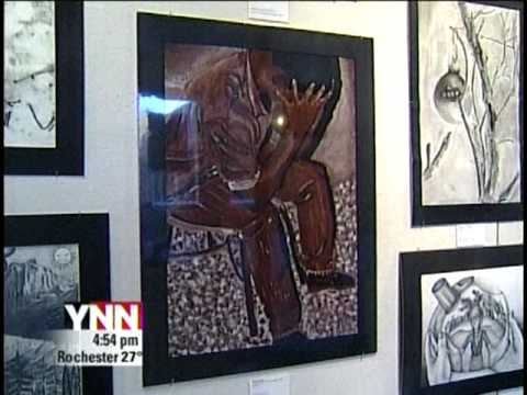 RIT on TV News: Student Art Exposition
