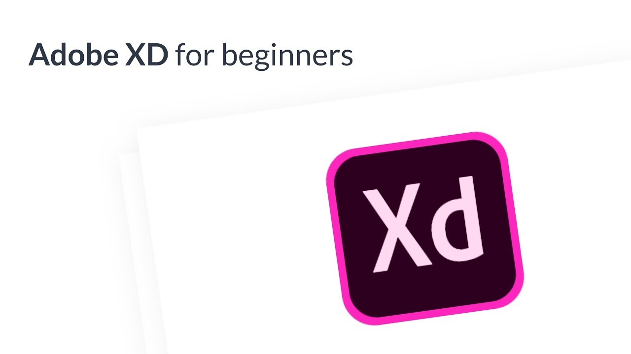 Adobe XD: Tutorial for Beginners 2018